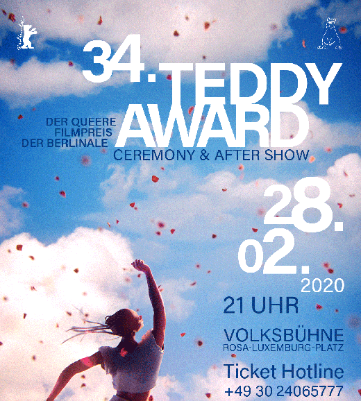 34. TEDDY AWARD, 28.02.2020 Volksbühne Berlin
