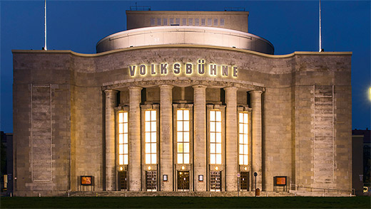 Volksbuehne Berlin, Foto: David Baltzer